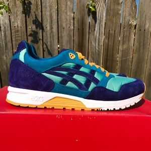 Asics Tiger GELSaga Blue/Teal/Sage Casual Shoes